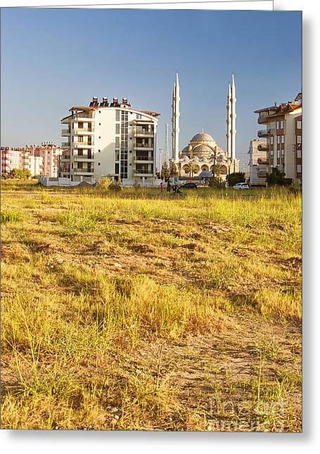 Mohamed Greeting Cards - Manavgat Mosque 03 Greeting Card by Antony McAulay