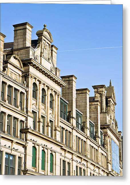 Development Greeting Cards - Manchester building Greeting Card by Tom Gowanlock