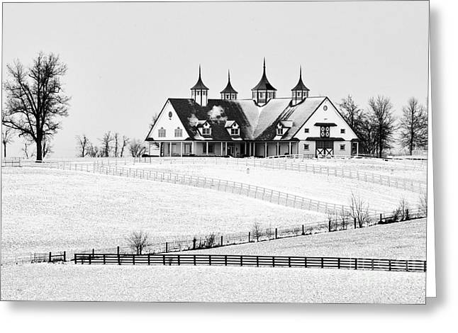 Cupola Greeting Cards - Manchester Farm - D006379a Greeting Card by Daniel Dempster