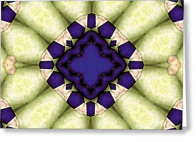 Geometric Art Greeting Cards - Mandala 118 Greeting Card by Terry Reynoldson