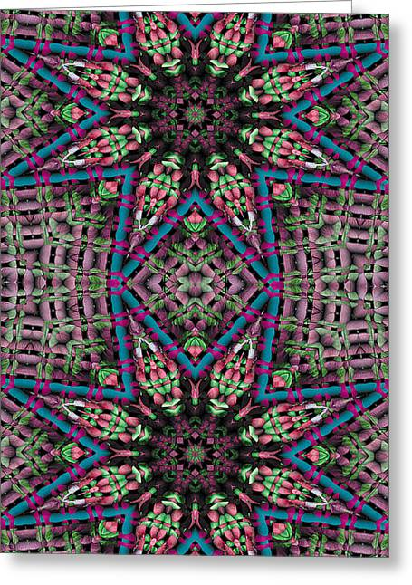 Trance Greeting Cards - Mandala 31 for iPhone Double Greeting Card by Terry Reynoldson