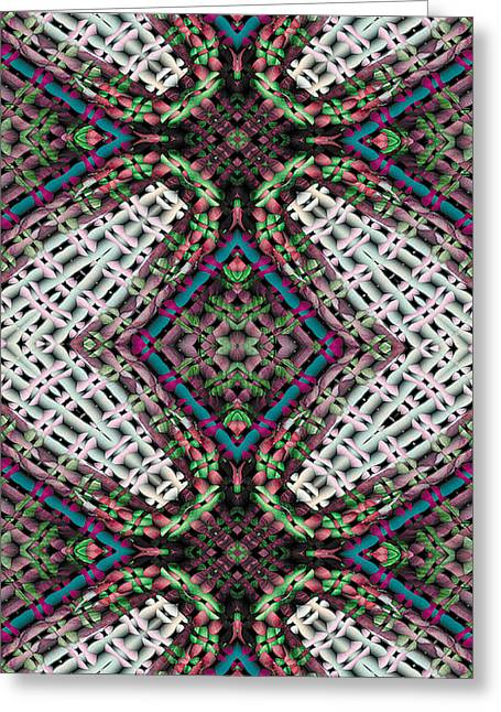 Metaphysical Greeting Cards - Mandala 32 for iPhone Double Greeting Card by Terry Reynoldson