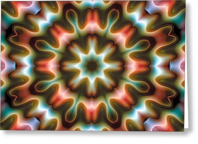 Mandala 80 Greeting Card by Terry Reynoldson