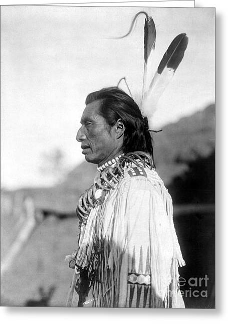Mandan Medicine Man, C1908 Greeting Card by Granger