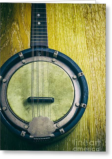 Mandolin Greeting Cards - Mandolin-banjo Greeting Card by Carlos Caetano