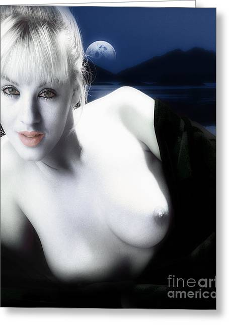 Woman Torso Photograph Greeting Cards - Mandy Greeting Card by Edmund Nagele