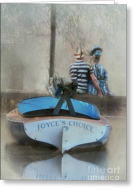 Outdoor Life Art Prints Greeting Cards - Manets Argentuile Greeting Card by Tom York Images