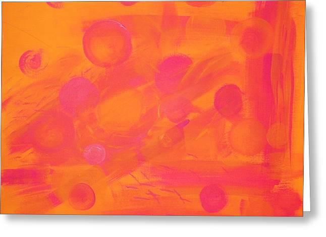Mango Greeting Cards - Mango Berry Suns Set Greeting Card by Elizabeth Sullivan