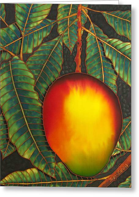 Mango Greeting Cards - Mango Greeting Card by Daniel Jean-Baptiste