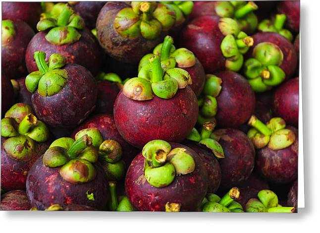 Mangosteen Greeting Cards - Mangosteen for sale Greeting Card by Ingo Jezierski