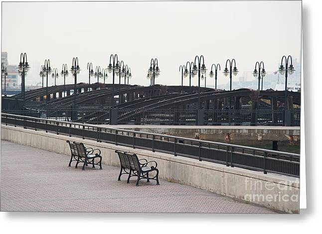 River View Greeting Cards - Manhattan Calls III Greeting Card by Ray Warren