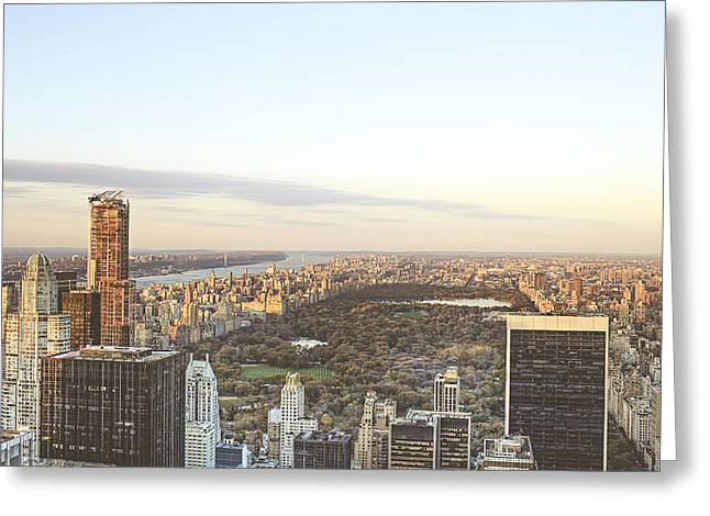 The Nature Center Greeting Cards - Manhattan Central Park Greeting Card by Ariane Moshayedi