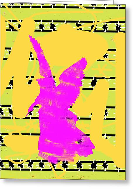 African Angel Greeting Cards - Brooklyn No.3 Greeting Card by Jesse McCrum