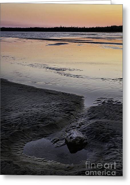 Manitoulin Greeting Cards - Manitoulin Sunset Greeting Card by Timothy Hacker
