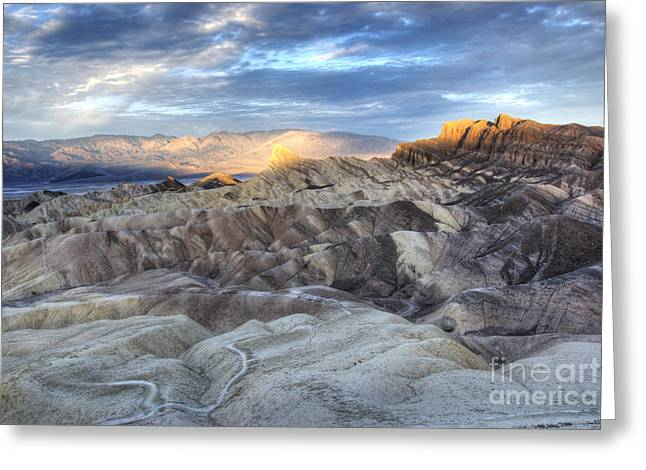 Panamint Valley Greeting Cards - Manly Beacon Greeting Card by Juli Scalzi