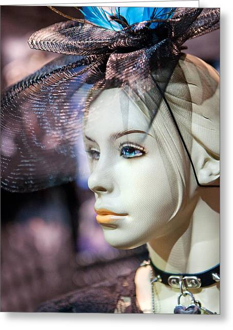 Dave Greeting Cards - Mannequin 1 Greeting Card by David Hare