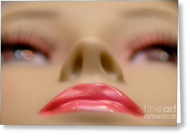 Empty Eyes Greeting Cards - Mannequin Study 5 Greeting Card by Amy Cicconi