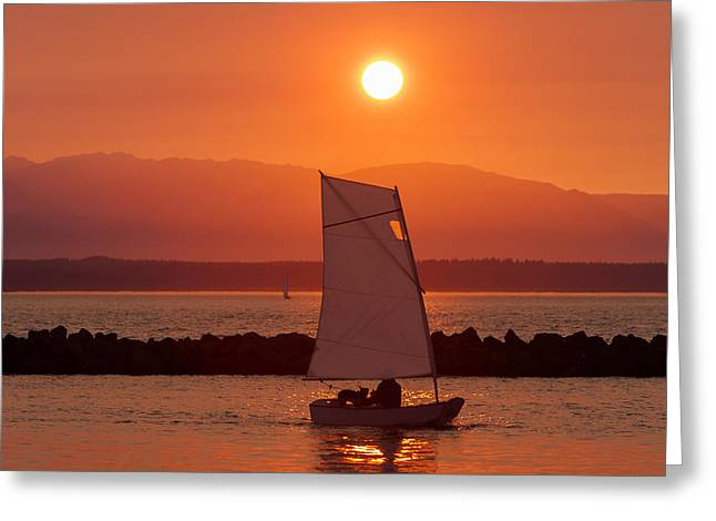 Best Sailing Photos Greeting Cards - Mans Best Friend Greeting Card by Scott Campbell