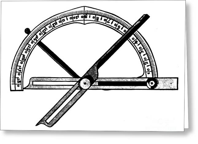 Manual Greeting Cards - Manual Goniometer For Crystallography Greeting Card by Science Source