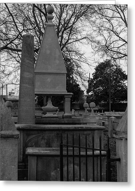 Final Resting Place Greeting Cards - Many Tombstones Greeting Card by Robert Hebert