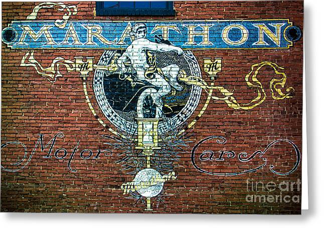 Nashville Tennessee Digital Art Greeting Cards - Marathon Motor Cars Greeting Card by Perry Webster