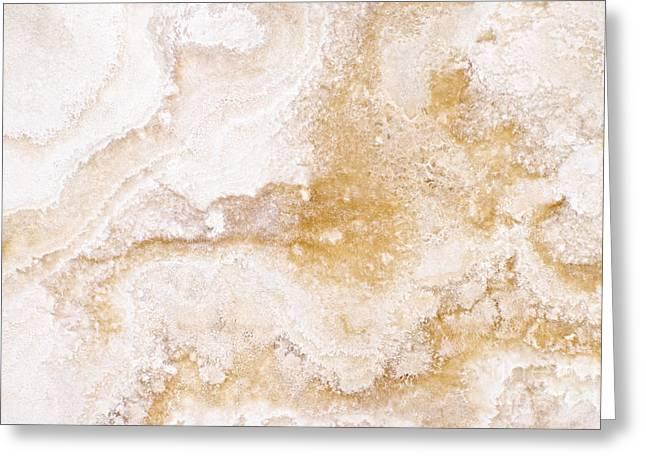 Marble Greeting Card by Elena Elisseeva