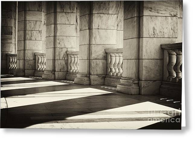 Arlington Greeting Cards - Marble Shadows Greeting Card by Paul W Faust -  Impressions of Light