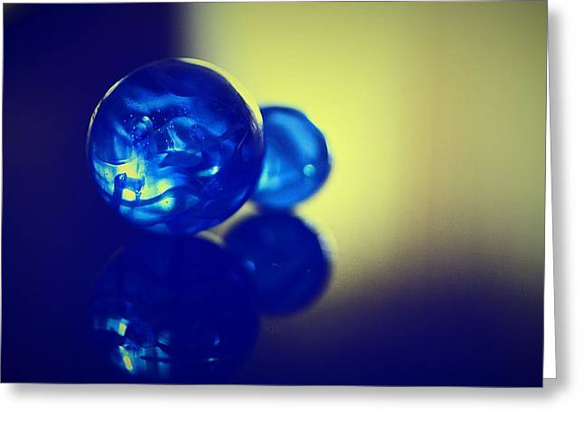 Marble Eye Greeting Cards - Marbles179 Greeting Card by Michael James Greene