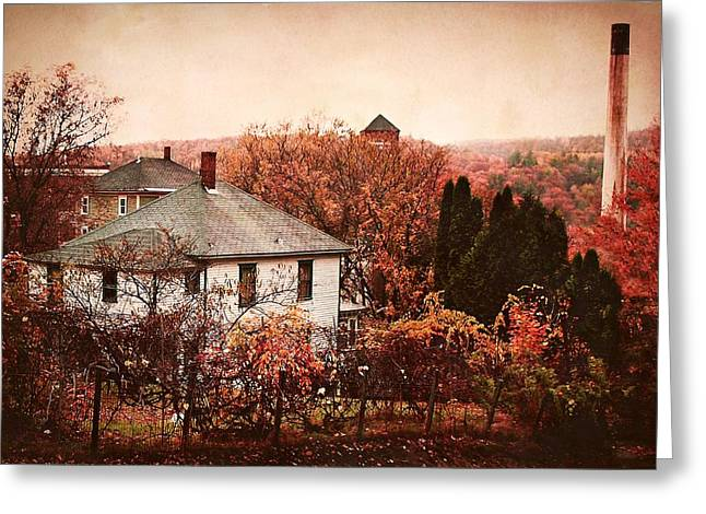 Olson House Greeting Cards - Marcello Street View Greeting Card by Joy Nichols
