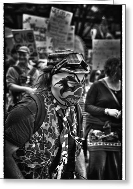 Solidarity Greeting Cards - March Against Monsanto III - Seattle Washington Greeting Card by David Patterson