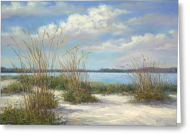 Tropical Oceans Greeting Cards - Marco Island Greeting Card by Laurie Hein