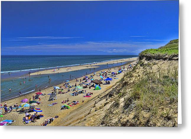 Marconi Beach Greeting Cards - Marconi Beach National Seashore Cape Cod 2 Greeting Card by Allen Beatty