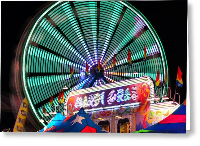 Amusements Greeting Cards - Mardi gras Greeting Card by David Lee Thompson