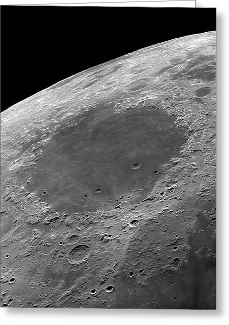 Mare Crisium Greeting Card by Damian Peach