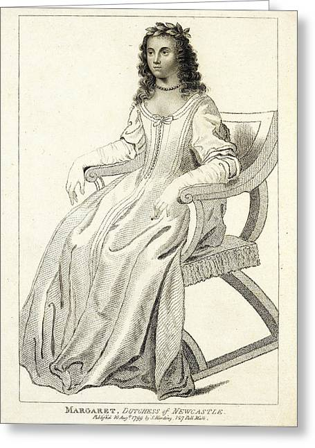 Margaret Cavendish Greeting Card by British Library