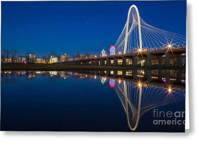 Highrises Greeting Cards - Margaret Hunt Hill Bridge Greeting Card by Inge Johnsson