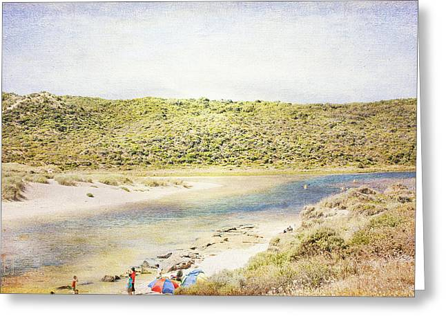 Margaret Rivermouth In Western Australia Greeting Card by Elaine Teague