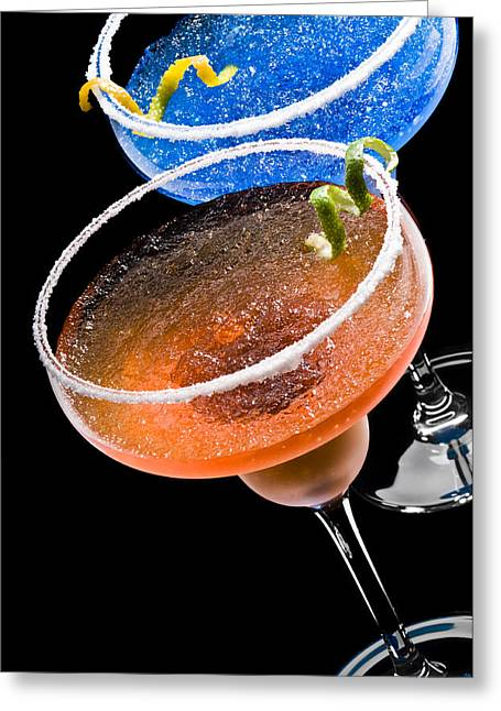 Daiquiri Greeting Cards - Margarita Cocktails Greeting Card by Ulrich Schade