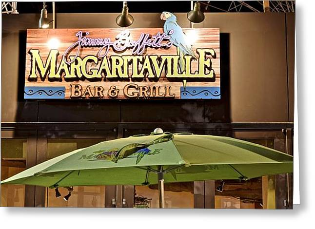 Announcer Greeting Cards - Margaritaville Greeting Card by Frozen in Time Fine Art Photography