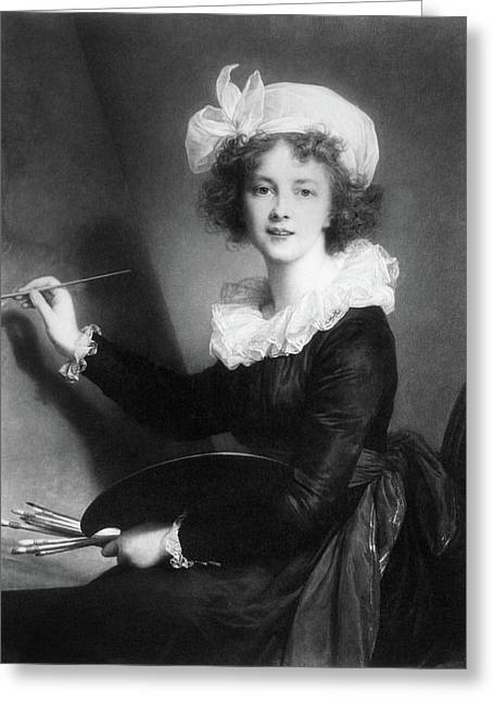 Marie Vigee-lebrun (1755-1842) Greeting Card by Granger