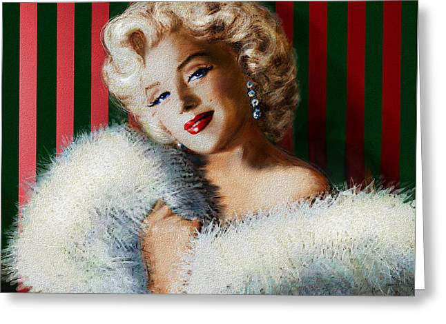 Marilyn 126 D 3 Greeting Card by Theo Danella