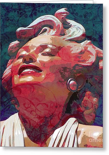 Marilyn 24 Greeting Card by Tammera Malicki-Wong