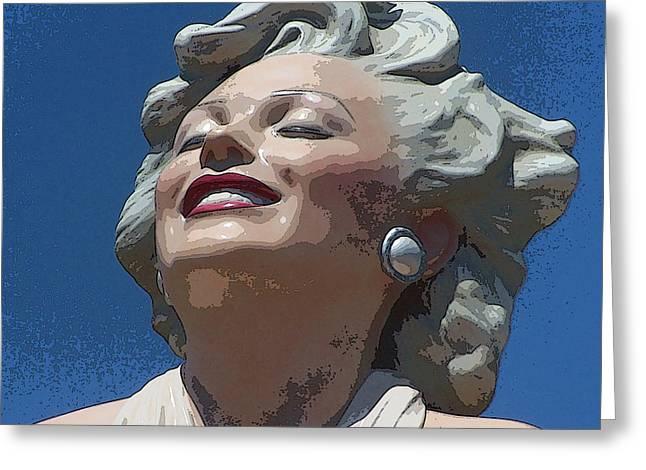 Marilyn 27 Greeting Card by Tammera Malicki-Wong