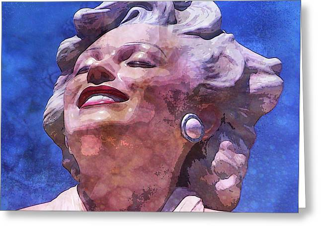 Marilyn 46 Greeting Card by Tammera Malicki-Wong