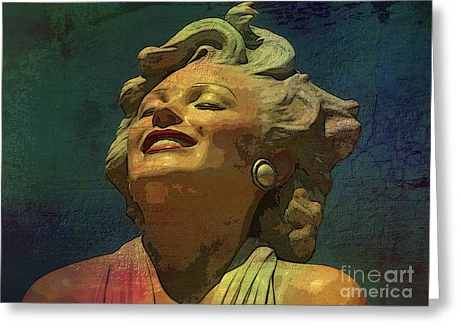 Marilyn 52 Greeting Card by Tammera Malicki-Wong