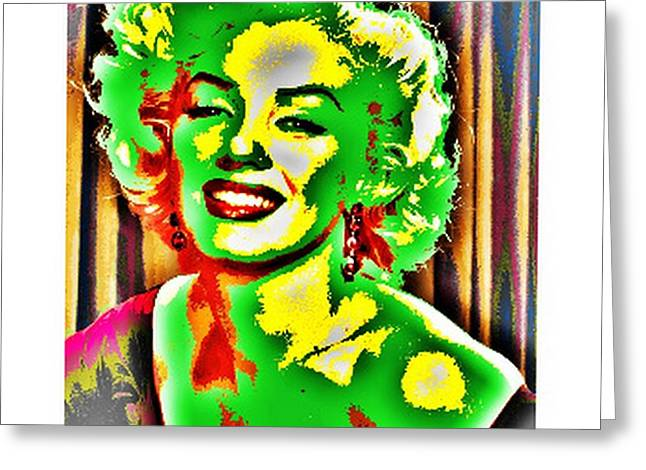 Marilin Greeting Cards - Marilyn Greeting Card by Donatella Sechi