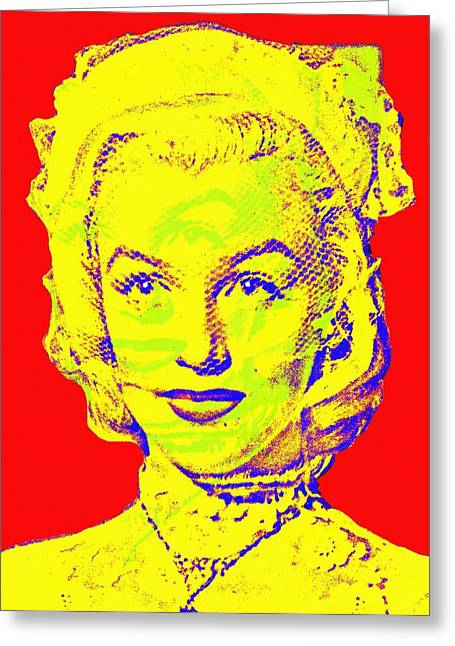 1953 Movies Greeting Cards - Marilyn Monroe in Gentlemen Prefer Blondes Greeting Card by Art Cinema Gallery