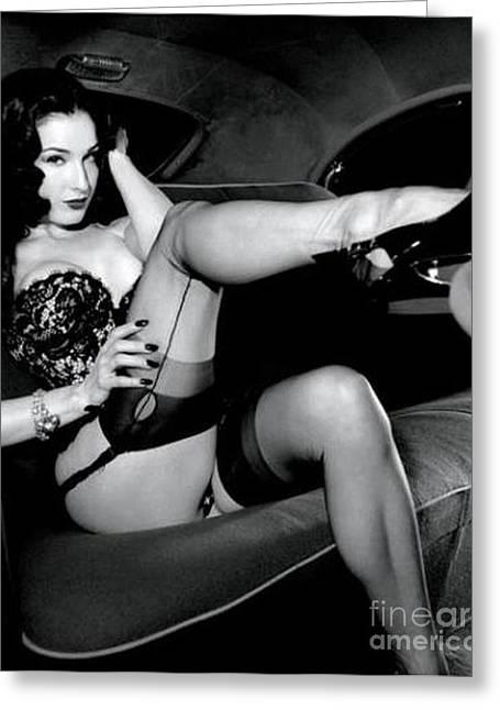 1960 Greeting Cards - Marilyn Monroe Greeting Card by R A W M