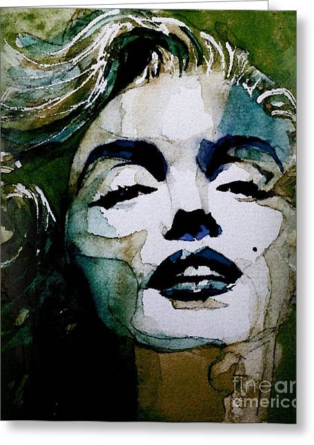 Marilyn Monroe Greeting Cards - Marilyn no10 Greeting Card by Paul Lovering