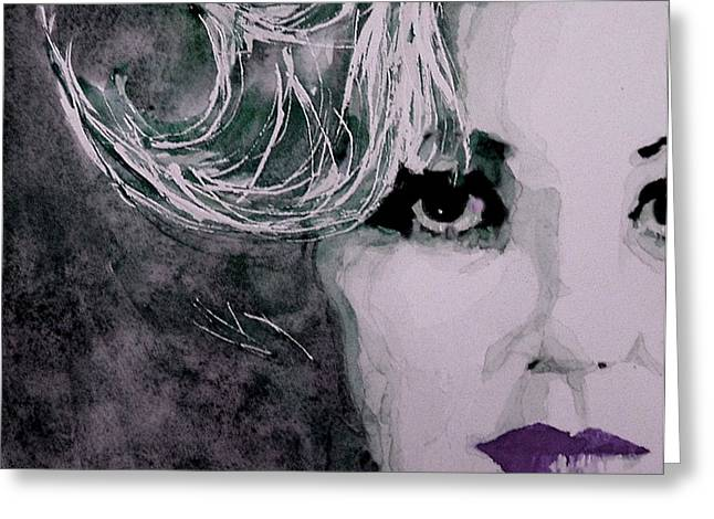 Norma Jean Greeting Cards - Marilyn no9 Greeting Card by Paul Lovering